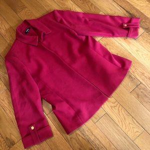 Red blazer size 12 w/ gold details